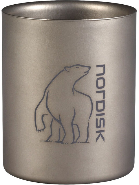 Nordisk Titanium Mug Double-Wall 450ml